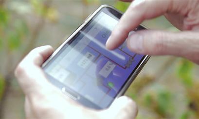 Filtration tangentielle pilotage sur smartphone